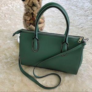 H&M sage color medium sized shoulder bag